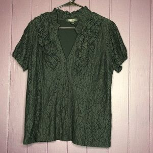 Laced overlay Blouse